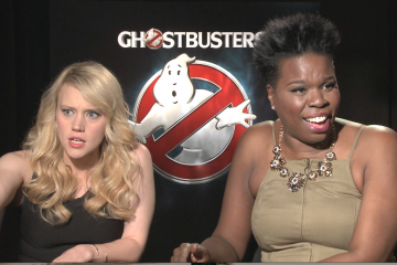 Zon DAmour Interviews Ghostbusters Stars Leslie Jones-Kate McKinnon