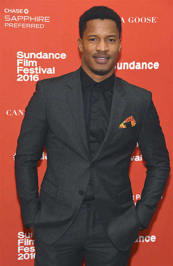 "Nate Parker, the director, star and producer of ""The Birth of a Nation,"" poses at the premiere of the film at the 2016 Sundance Film Festival. (Photo by Chris Pizzello/Invision/AP)"