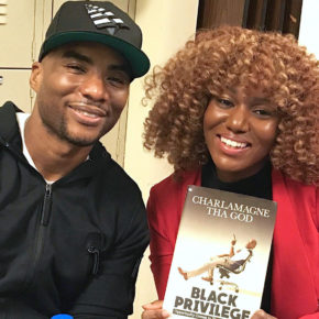 Charlamagne Tha God and Zon D'Amour