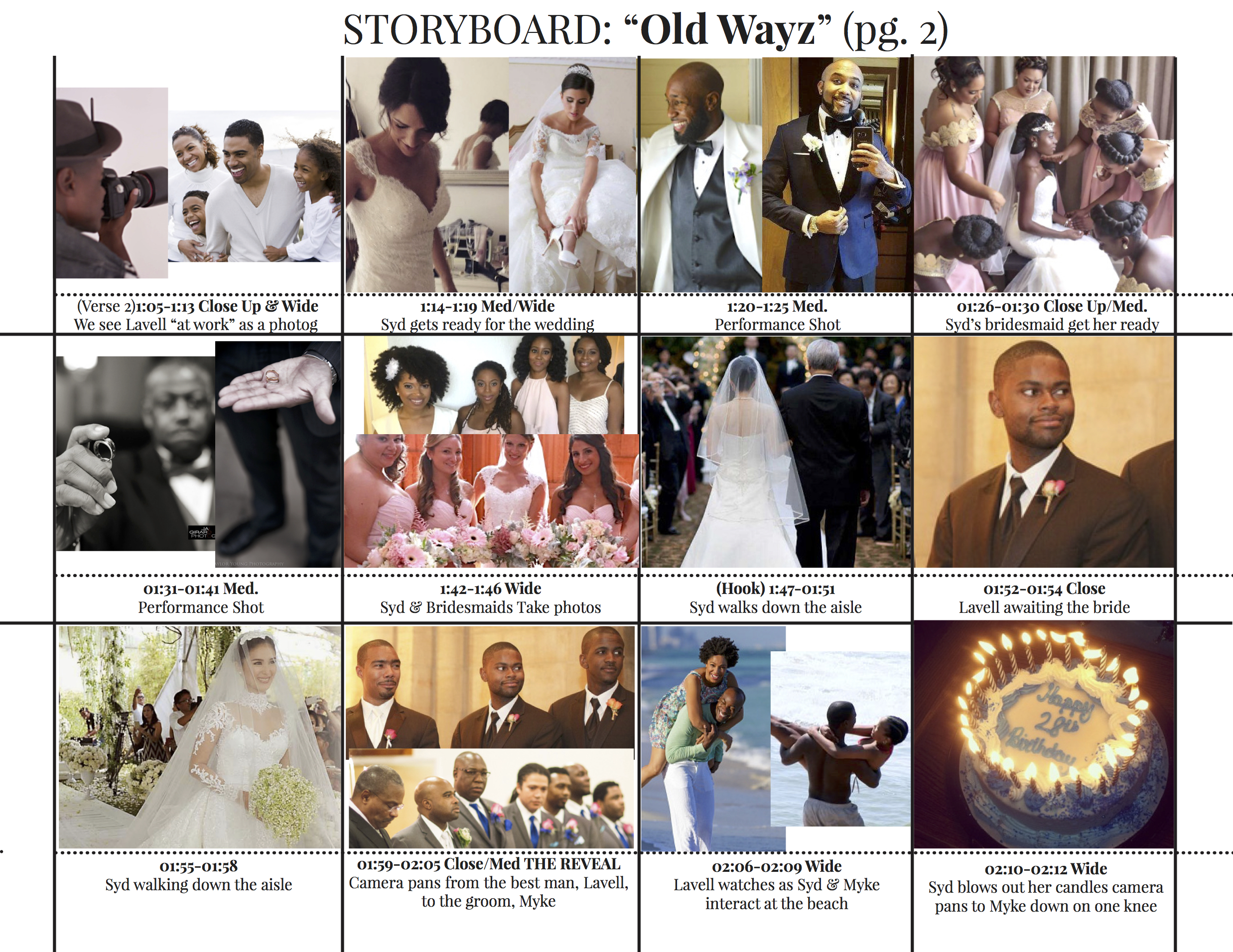 Old Wayz MUSIC VIDEO Storyboard2